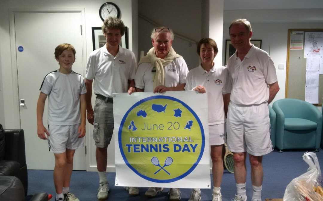 2nd Annual International Tennis Day Scores Big