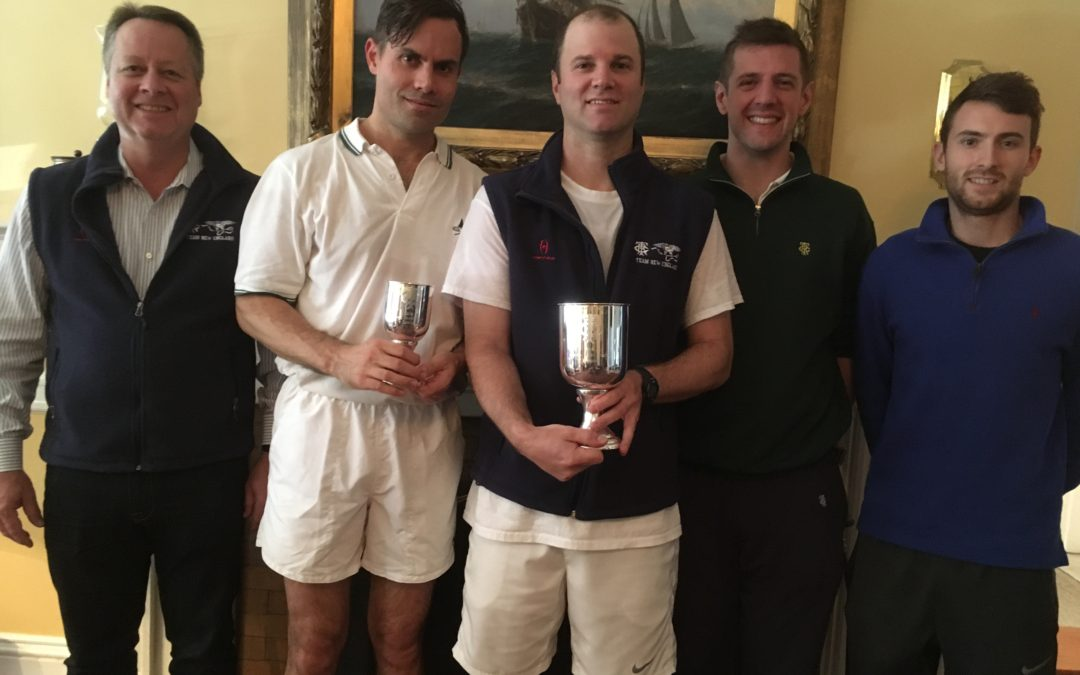 Meringoff wins Jimmy Knott Memorial Singles Tournament