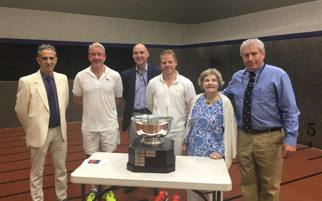 Riviere Wins 8th Straight U.S. Pro Singles Title